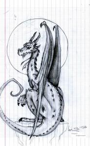 fée féerique dessin BD dragon