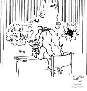 fée féerique dessin BD comics humour scolaire