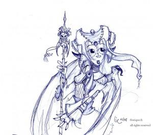 fée féerique dessin BD manga déesse fantaisy