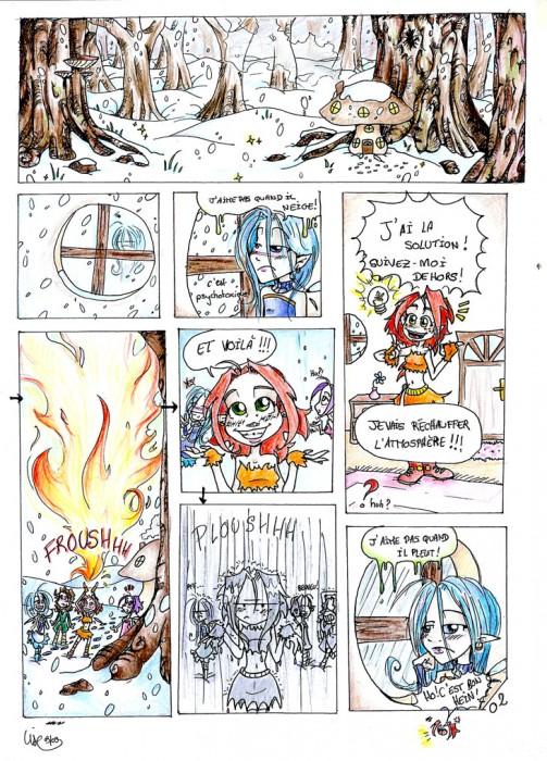 bande dessinée fée hiver
