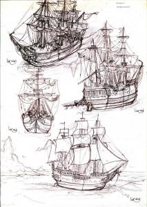 fée féerique BD dessin navire bâteau pirate aventure