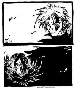 fée féerique dessin BD fantaisie aventure gothic gothique manga