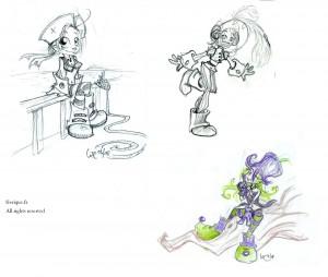fée féerique dessin BD comics humour bande dessinée manga elfe pirate