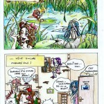 fée féerique dessin BD comics humour bande dessinée manga