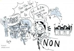 fée féerique dessin BD bande dessinée manga ghotique elfe comics blocus lycée