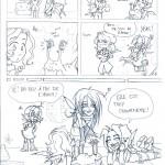 fée féerique dessin BD bande dessinée manga ghotique elfe médiéval fantaisy