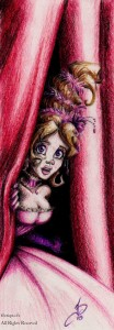 fée féerique dessin BD bande dessinée manga ghotique elfe fantaisy