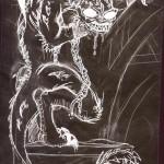 gothique fée féerique dessin BD bande dessinée manga elfe fantaisy dragon