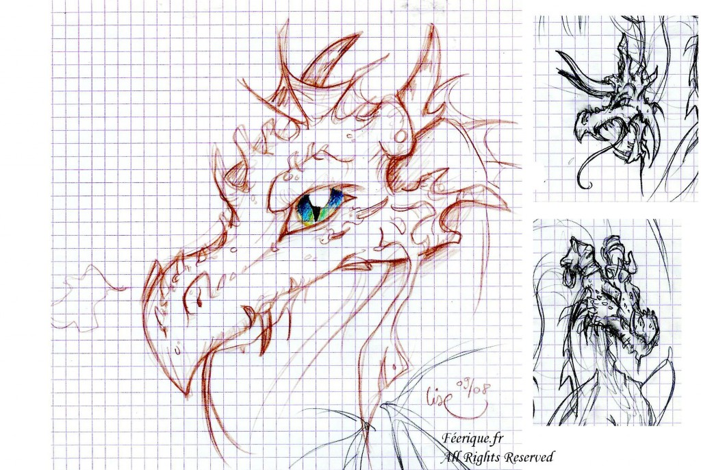 Des dessins de dragons - Dessins dragon ...