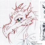 fée féerique dessin BD bande dessinée manga ghotique elfe fantaisy dragon