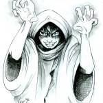 fée féerique dessin BD bande dessinée manga ghotique elfe fantaisy halloween