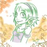 elfe d'automne avec photoshop