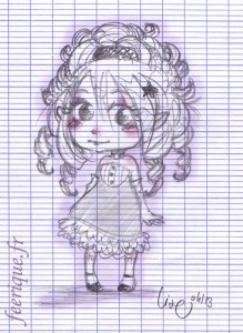chibi princesse look steampunk