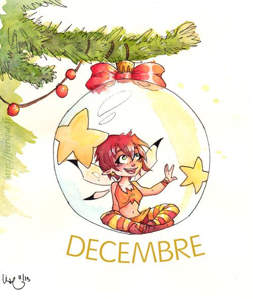 mois de décembre noel feerique sapin décoration fée