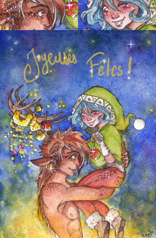 noël 2013 feerique joyeuses fetes elfe et centaure magique